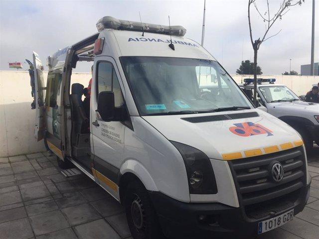 Córdoba.- Sucesos.- AMP.- Dos muertos y un herido grave en el hospital tras chocar dos coches en la N-432 en Baena