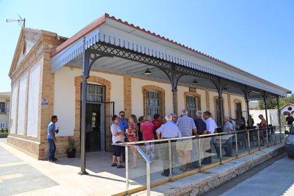 Ayuntamiento de Cantoria (Almería) recupera la estación de Almanzora para convertirla en edificio de servicios