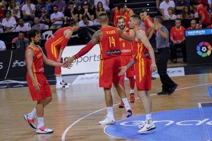 España calibra a Estados Unidos a dos semanas del Mundial