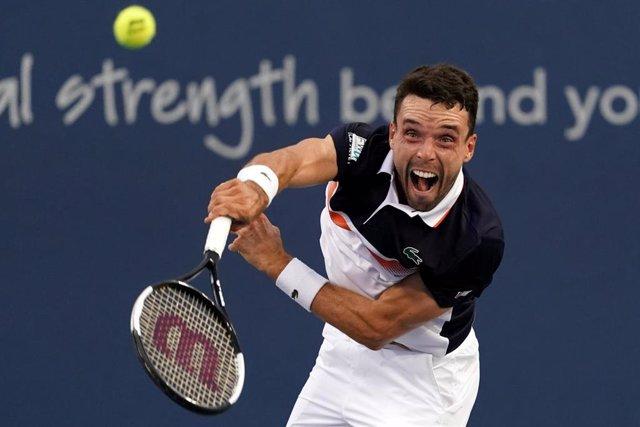El tenista español Roberto Bautista