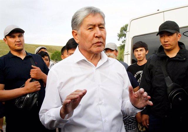 El expresidente Almazbek Atambayev