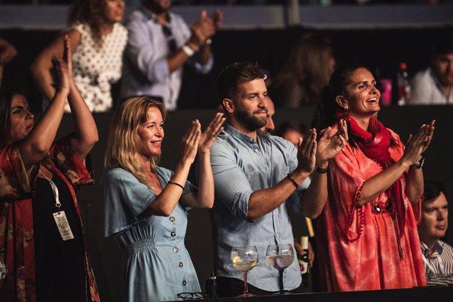 Pablo Alborán y María Esteve en el último concierto del Festival Starlite