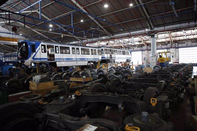 Imagen de archivo de las instalaciones del Centro de Control de Metro de Madrid.