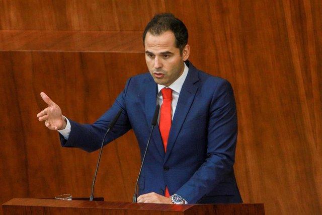 Imagen de archivo del portavoz de Ciudadanos en la Asamblea de Madrid, Igancio Aguado.