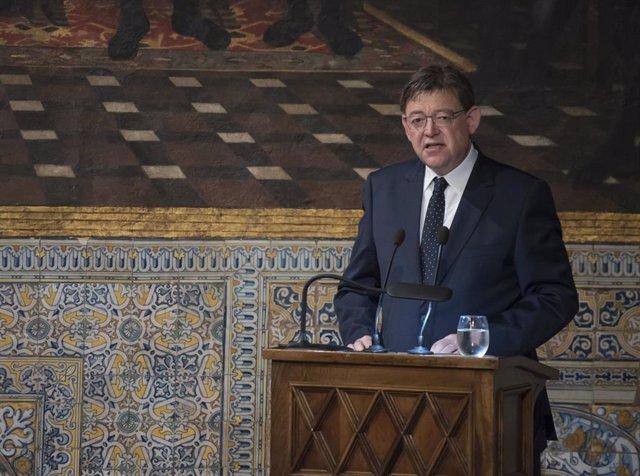 El president de la Comunitat Valenciana, Ximo Puig, en imagen de archivo