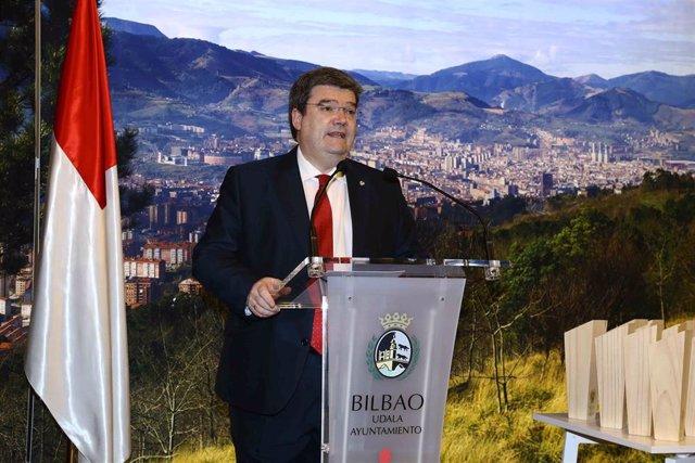 El alcalde de Bilbao, Juan Mari Aburto, en una foto de archivo
