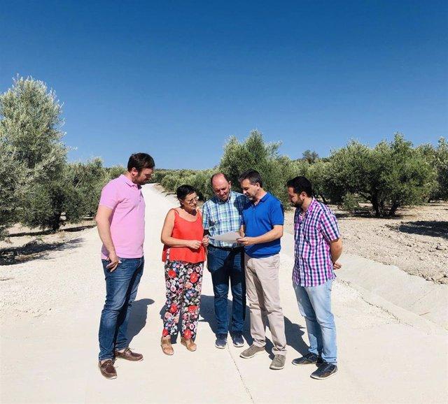 Visita a caminos de Aguilar de la Frontera