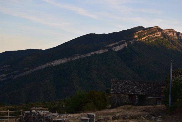 Monte Nabaín, en el Pirineo oscense.