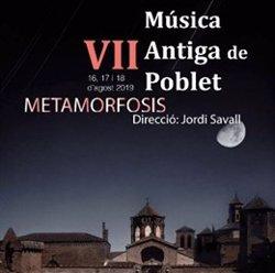 El Festival de Música Antiga de Poblet reflexiona sobre la metamorfosi musical (FESTIVIAL MÚSICA ANTIGA DE POBLET)