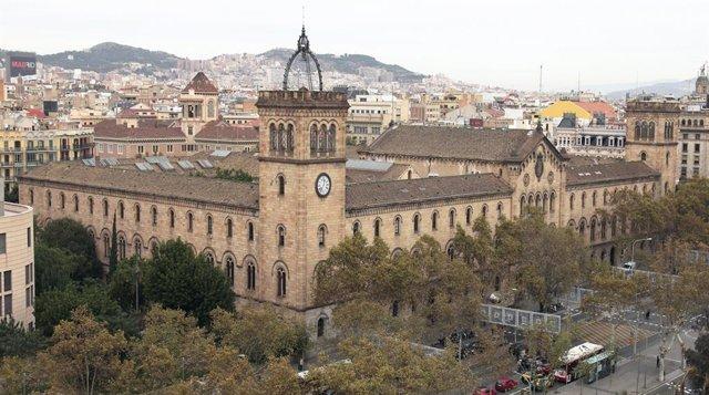 Sede histórica de la Universitat de Barcelona, la universidad española mejor colocada en el ranking de Shanghai.