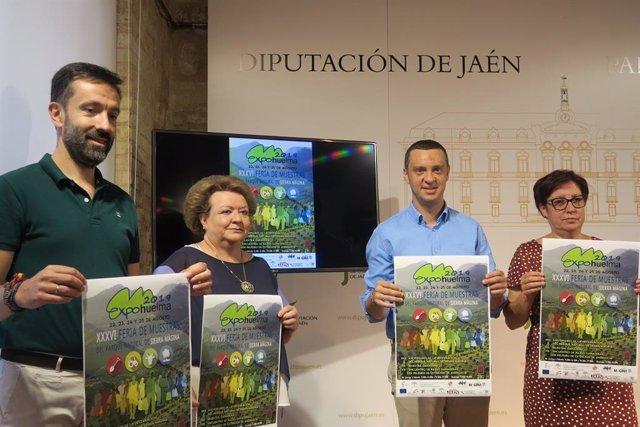 Presentación de la XXXVI Feria de Muestras del Parque Natural Sierra Mágina, Expohuelma 2019.