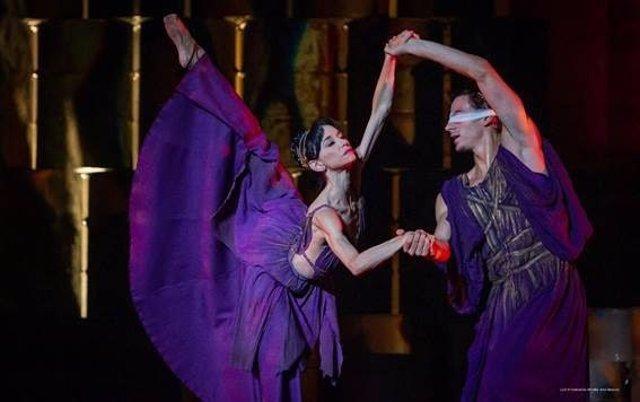 Imagen de la versión de Antígona que estrenará en el Teatro Auditorio San Lorenzo de El Escorial el ballet de Víctor Ullate.