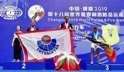 La Ertzaintza consigue un oro, dos platas y cinco bronces en los Mundiales de Policías y Bomberos de China