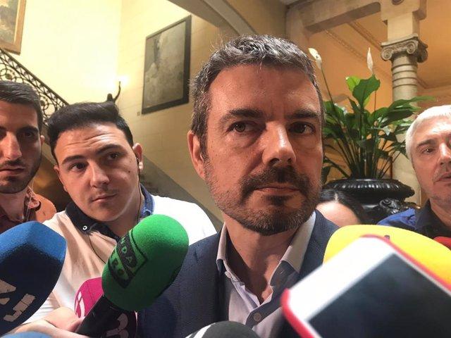 El portavoz de Cs en el Parlament, Marc Pérez-Ribas.