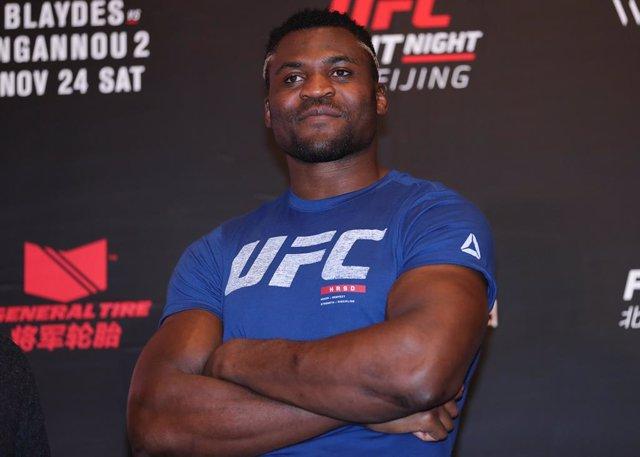 El luchados de la UFC Francis Ngannou