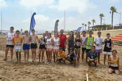 Finaliza la Copa Diputación de Tenis Playa con la final celebrada en San Juan de los Terreros (Almería)