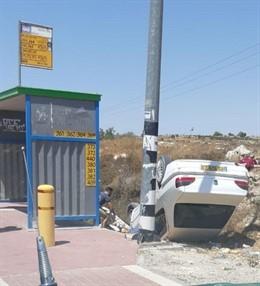 Atropello mortal en Cisjordania
