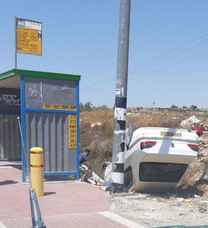 Abatido un conductor palestino tras arrollar a dos israelíes en Cisjordania