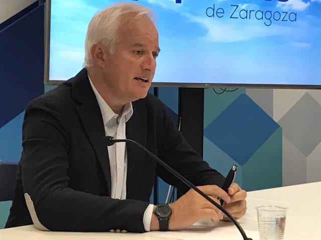 El candidato del PP Zaragoza al Congreso en 2019, Eloy Suárez.