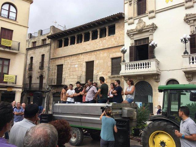 Asamblea de viticultores en Vilafranca del Peneds