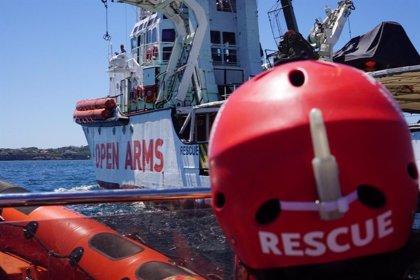 """Proactiva Open Arms solicita la evacuación """"urgente e inmediata"""" de los migrantes"""