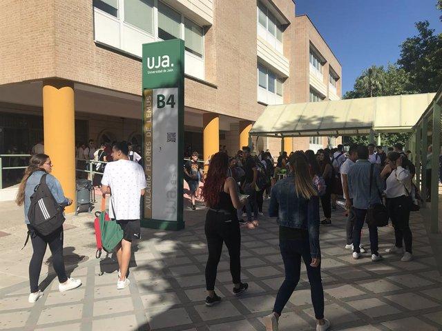 El Campus de Las Lagunillas de la UJA en una imagen de archivo.