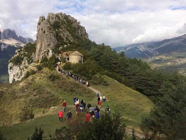 Ruta por las ermitas de Tella, geología y patrimonio