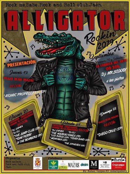 El Festival Alligator Rockin' de Jaén celebrará su XI edición del 19 al 22 de septiembre