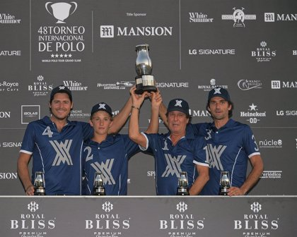 Torneopolo.- Ayala Polo Team gana la Copa de Plata Royal Bliss de mediano hándicap tras derrotar a Royal Salute
