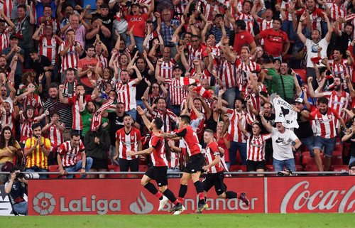 ACT.- Fútbol/Liga Santander.- Crónica del Athletic Club - FC Barcelona, 1-0