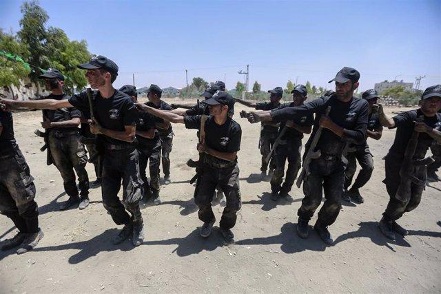 Brigadas Ezzedin al Qassam, del movimiento Hamás