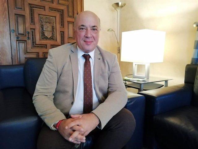 El secretario general del PSOE de Córdoba y presidente de la Diputación, Antonio Ruiz.