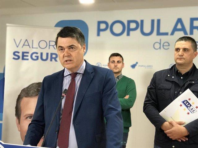 El candidato del PP al Congreso Carlos Rojas.