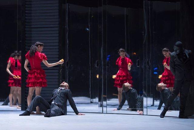 Montaje de 'Carmen' de la Compañía Nacional de Danza