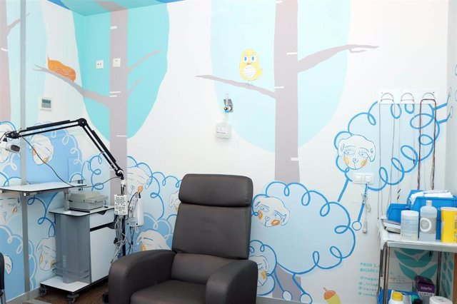 Zona infantil del Hospital La Fe
