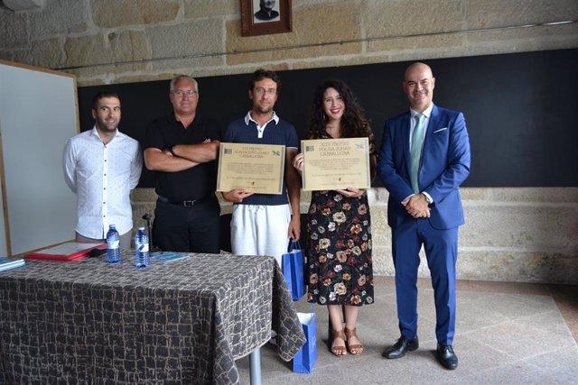 Entrega de los premios Johán Carballeira