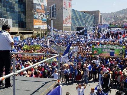 """Bolivia.- Evo Morales arranca la campaña y advierte de que votar a la derecha es votar por el """"pueblo limosnero"""""""
