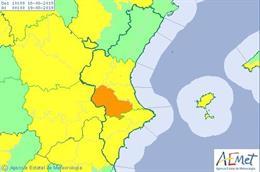 Avisos de calor este domingo, 18 de agosto, en la Comunitat Valenciana