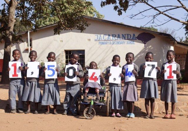 Mary's Meals alimenta a 1,5 millones de niños cada día en escuelas ubicadas en 18 países