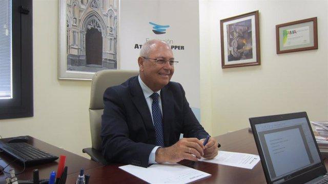 Antonio de la Vega, director general de la Fundación Atlantic Copper.