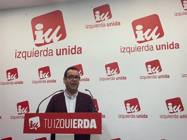 Coordinador regional IU, Juan Ramón Crespo