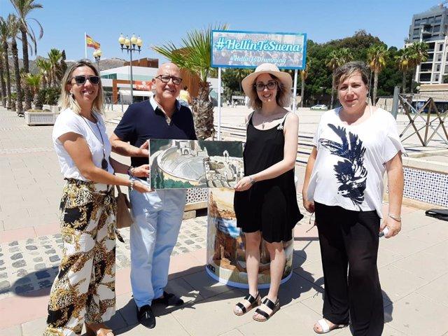La edil de Turismo de Hellín en Cartagena