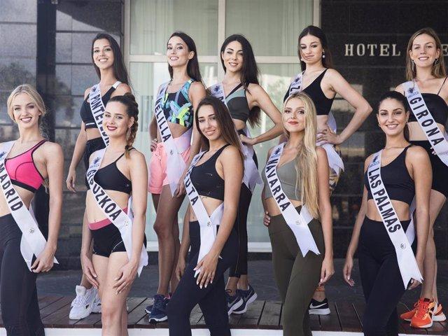 Aspirantes a Miss World Spain