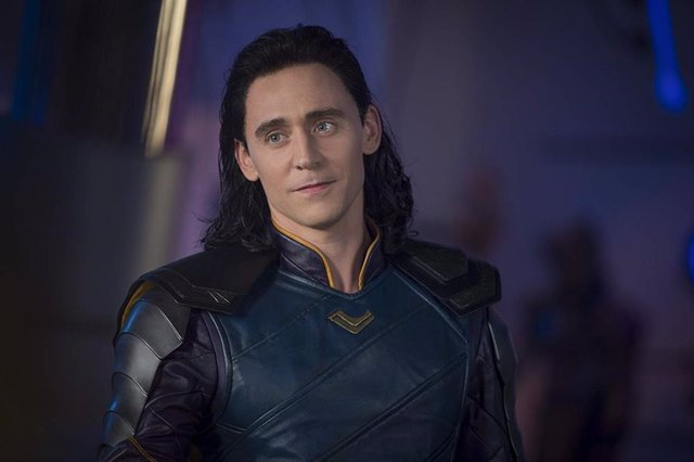 Tom Hiddleston como Loki en Thor: Ragnarok