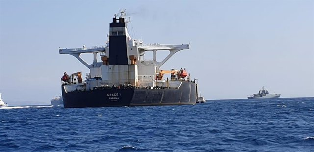 El petrolero iraní Grace 1 apresado por Gibraltar