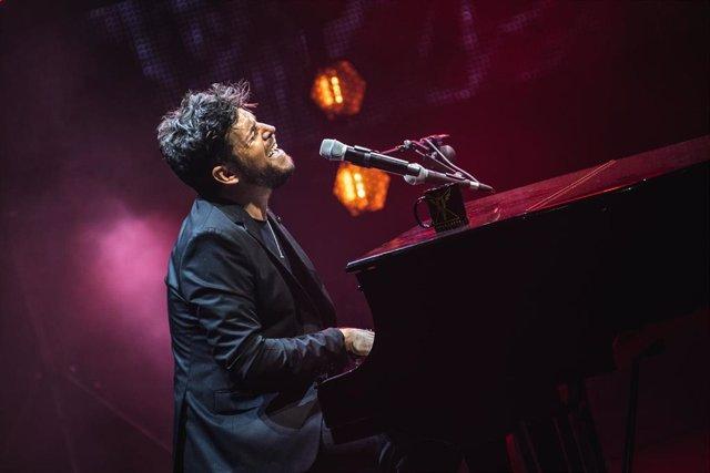 Concierto de Pablo López en el Festival Starlite