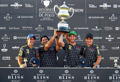 Brunei se proclama campeón de la Copa de Plata Royal Bliss de alto hándicap