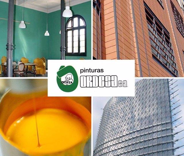 PINTURAS ORDESA, S.A. Es una empresa cuya actividad se centra en el diseño y fabricación de pinturas que cubren las necesidades de distintos ámbitos de actividad. Fundada hace 40 años, la empresa tiene su sede central en Cadrete (Zaragoza).