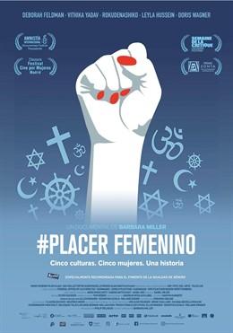 Cartel película #Placer femenino