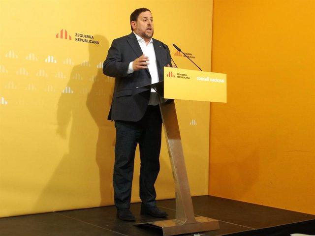 Oriol Junqueras (Arxiu)